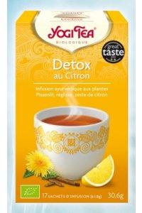 Détox au Citron 17 sachets d'infusion