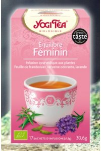 Equilibre féminin 17 sachets d'infusion