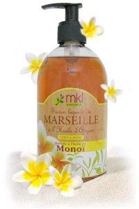 MKL Savon liquide de Marseille à l'huile d'argan Monoi 1 Litre