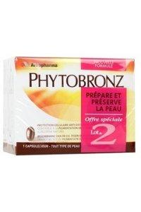 PHYTOBRONZ prépare et préserve la peau lot de 2 x 30 capsules