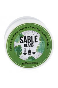 Sable blanc pour porte-encens/ brûle parfum 10g