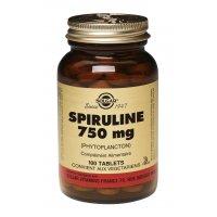 SOLGAR Spiruline 750 mg phytoplancton 100 comprimés