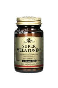 SOLGAR Super Mélatonine 2 mg 60 comprimés