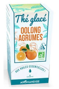 THE GLACE OOLONG AGRUMES 10 SACHETS PYRAMIDES AROMANDISE