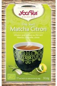 Thé vert Matcha Citron 17 sachets d'infusion